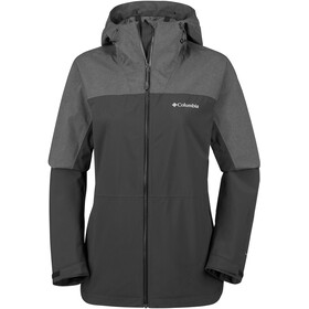 Columbia Evolution Valley II Chaqueta Mujer, black/charcoal